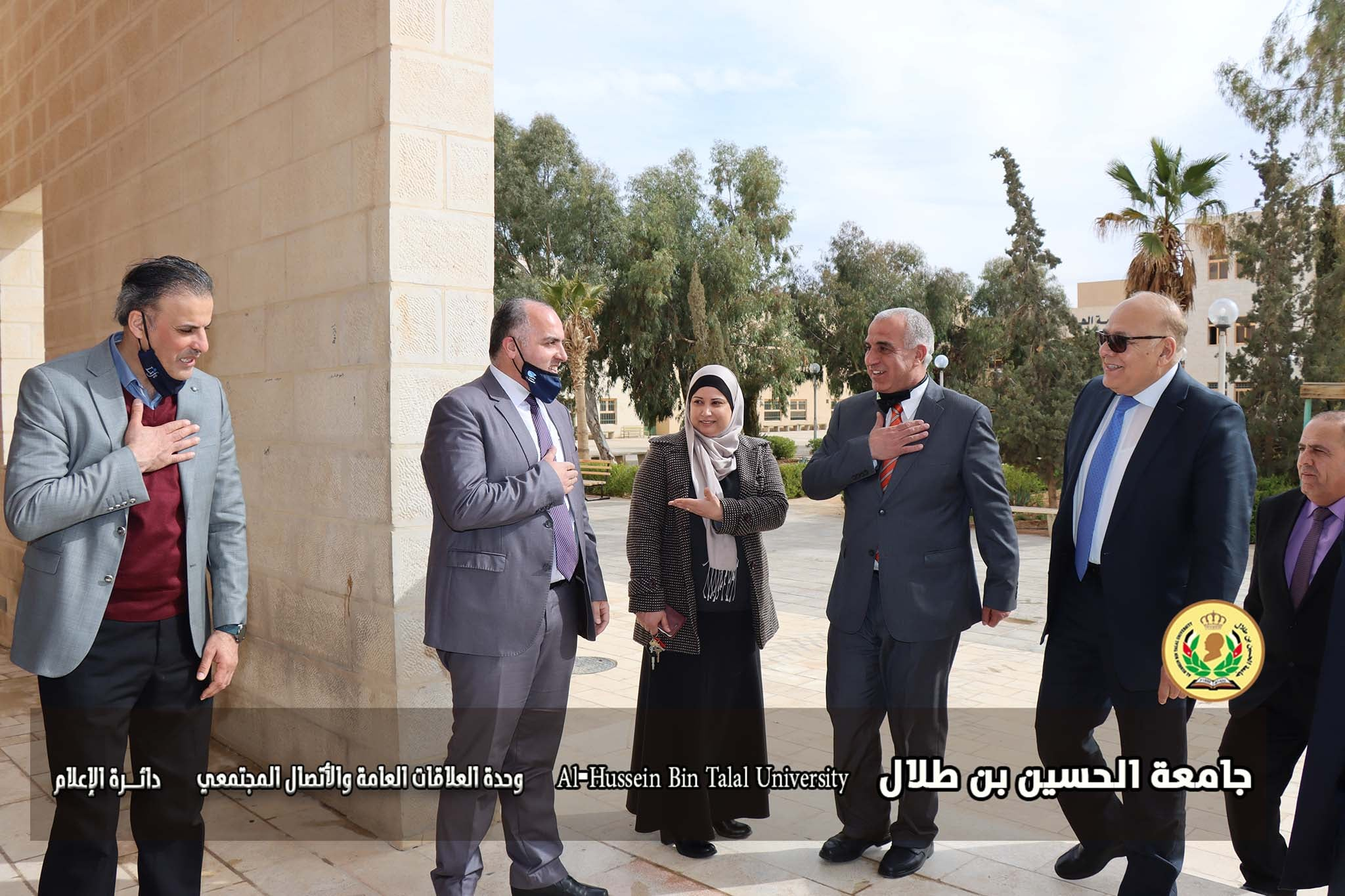 His Excellency the Secretary General of the Association of Arab Universities visits the College of Information Technology